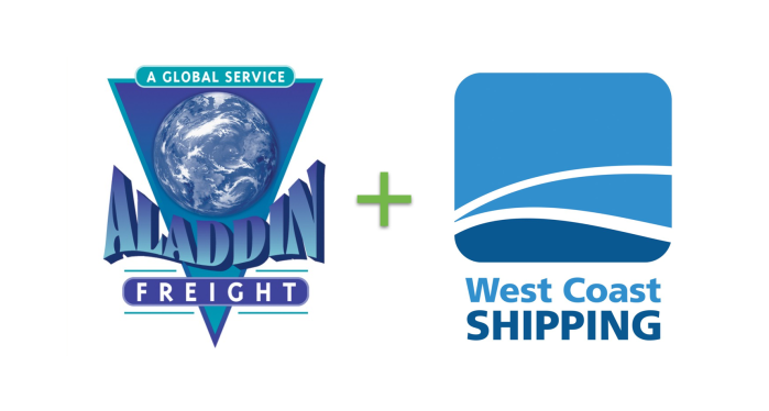 Aladdin Freight has merged with West CoastShipping