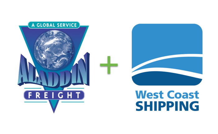 Aladdin Freight has merged with West Coast Shipping
